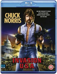 INVASION USA (1985) blu-ray 88 films chuck norris u.s.a. cannon action BLU