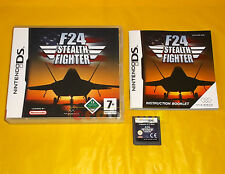 F24 STEALTH FIGHTER Nintendo Ds Versione Italiana ○○○ COMPLETO - AW