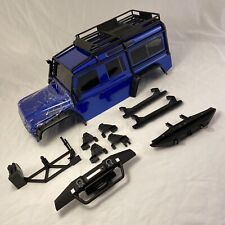 Traxxas TRX-4 Blue Defender Body (No Rear Tire) TRX4