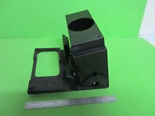 MICROSCOPE PART POLYVAR REICHERT LEICA LENS HOLDER HEAD AS IS BIN#S2-02