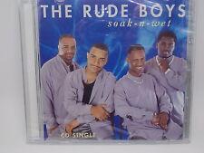 The Rude Boys - Soak-N-Wet - (1997 CD Single,Buchanan/Warlock Records) Sealed