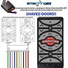 Android App Control Air Management Suspension & Shaved Doors Controller