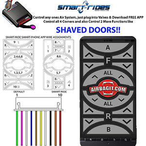 V Android App Control Air Management Suspension & Shaved Doors