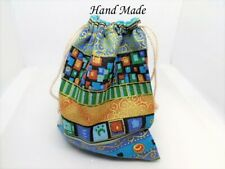Drawstring Cotton Gift Bags Keepsakes Hand Made for charity
