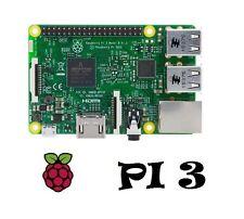 Raspberry Pi 3 Model B - 1GB RAM Quad Core 64Bit Bluetooth WiFi