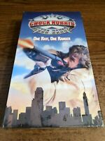 Walker Texas One Riot One Ranger New / Sealed VHS VCR Video Tape Chuck Norris