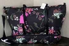 "Vera Bradley Airy Floral Midtown Travel Bag 14.5""H x 23""W x 10""D"