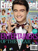 Entertainment Weekly Magazine Daniel Radcliffe Entertainers Of The Year 2011