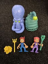 Jake and the Never Land Pirate Creature Adventure Captain Izzy Angler Fish Squid
