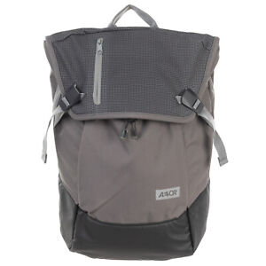 "RRP€125 AEVOR Backpack Large Expandable 18-28L Water Repellent 15"" Pocket Zipped"