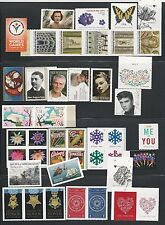 2015 US Commemorative Stamp Year Set Mint NH as the Scan shows