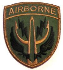 Airborne Ecusson brodé troupes aéroportées ecusson parachutiste Airborne patch