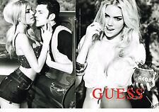 PUBLICITE ADVERTISING 2011   GUESS haute couture AMBER HEARD ( 2 pages)