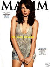 Maxim Magazine December 2009 Ashley Greene Twilight NFL Hottest Cheerleader