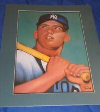Gerry Dvorak Mickey Mantle 1952 Topps Rookie Card Print
