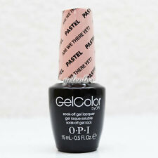 OPI GelColor Soak Off LED/UV Gel Nail Polish .5oz PASTEL Are We There Yet #GC105