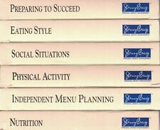 Jenny Craig Library Set of 6 VHS Weight Loss Nutrition Menu Planning Lifestyle
