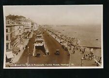 Sussex HASTINGS Promenade Carlisle parade c1930/40s? RP PPC