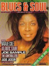 Natalie Cole Blues & Soul 1989    Joe Sample    Atlantic Starr   The Controllers