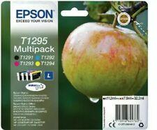 Epson T1295 Ink Cartridges Apple - Black/Cyan/Magenta/Yellow - BRAND NEW