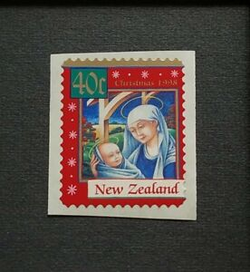 1998 New Zealand Christmas Celebration 1v Self Adhesive Stamp Mint NH