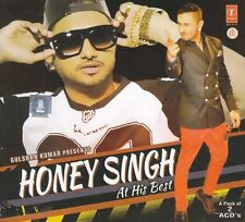HONEY SINGH AT HIS BEST - 2 CD BOLLYWOOD COMPILATION SET - FREE POST