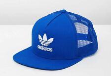 Adidas Originals Trefoil Flatbrim Trucker - Blue