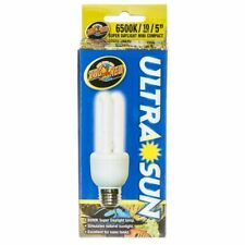 Lm Zoo Med Aquatic Ultra Sun 6500K Compact Flourescent Daylight Bulb