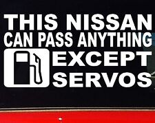 THIS patrol navara skyline 4x4 Car accessories Funny Stickers 200mm for NISSAN