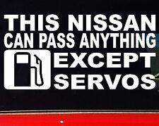 THIS NISSAN patrol navara skyline 4x4 Car accessories Funny Stickers 200mm