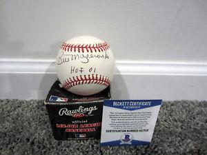 BILL MAZEROSKI Pittsburgh Pirates SIGNED Vintage ROMLB Baseball w/ BAS COA HOF