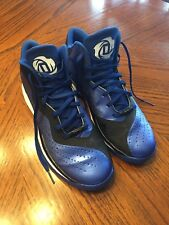 Adidas Blue Men s adidas Derrick Rose Athletic Shoes  9512b73884