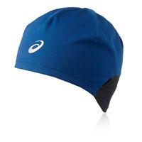 Asics Unisex Blue Winter Warm Running Sports Head Wear Beanie Hat