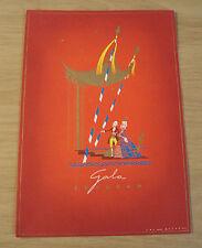 1966 Holland-America Line~SS STATENDAM 'GALA Theatre Program'~Ephemera~