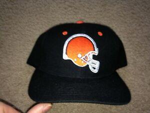 Vintage Team NFL Cleveland Browns Snapback Hat NWT helmet logo