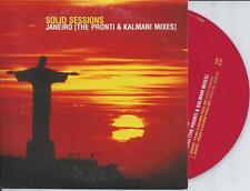 SOLID SESSIONS - Janeiro (PRONTI & KALMANI MIXES) CD SINGLE 2TR Trance 2000