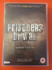 PRISONERS OF WAR : COMPLETE 1ST & 2ND  SEASON REG 2 DVD ( Homeland )