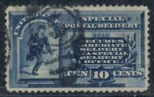 Us #E1 10¢ blue, used, Vf, Scott $80.00