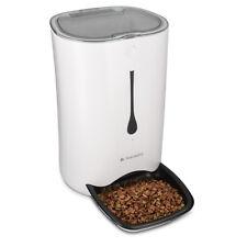 Automatischer Futterautomat Timer 6L Futterspender max 4 Mahlzeiten Katze Hund