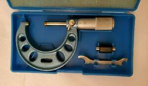 "Fowler 52-240-002 Micrometer, 1-2"" Range, .0001"" Graduation FAST FREE SHIPPING"