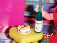 Valentines Heart Table Wine Treat fits Fisher Price Loving Family Dollhouse