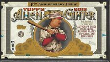2015 TOPPS ALLEN & GINTER BASEBALL FACTORY SEALED HOBBY 12 BOX CASE