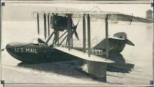 1929 Press Photo US Mail Sea Plane 1920s
