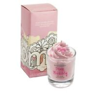 Bomb Cosmetics Pink Bubbly Piped Candle - NEW!