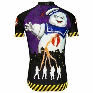 Brainstorm Gear Men's Ghostbusters Stay Puft Cycling Jersey
