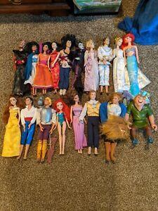 Disney Doll Lot Of 20
