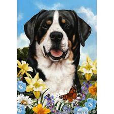 Summer House Flag - Greater Swiss Mountain Dog 18144