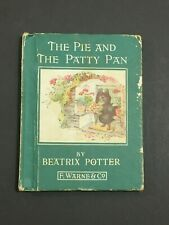 THE PIE AND THE PATTY PAN BEATRIX POTTER 1903 1933 EDITION