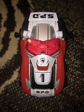 Power Rangers SPD Deluxe Delta Squad Megazord Red Runner 1 Figure