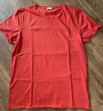 Filippa K m. lt. single Jersey té talla L * rojo * nuevo